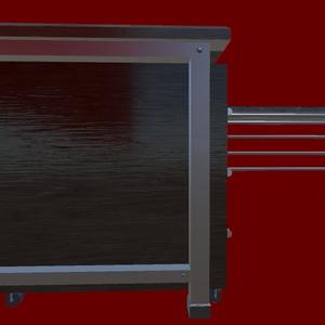 オリジナル3Dモデル「L字デスク」