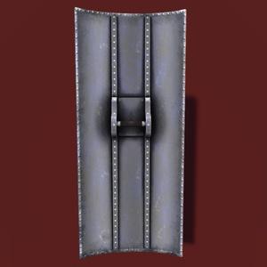 VRChat向けオリジナル3Dモデル「steel towershield」