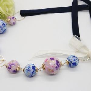 【 YOI】デコナップお花ネックレス