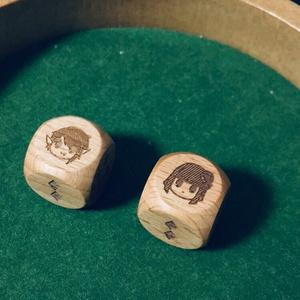 【RPTD/受注生産分】ウルクル木製ダイス