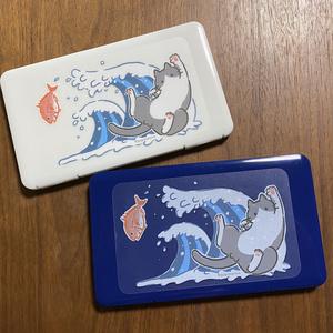 猫と鯛のマスクケース