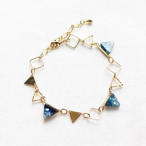 【ヒプマイ】三角モチーフのメタルブレスレット