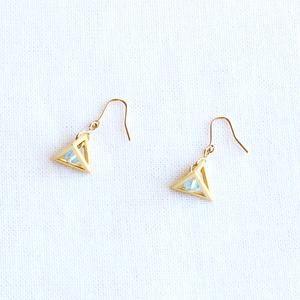【ヒプマイ】三角錐のピアス/イヤリング