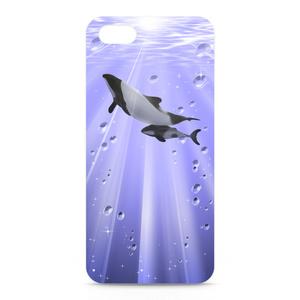 イロワケイルカ(親子) iPhone5