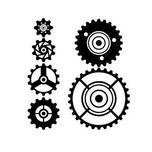 素材 歯車