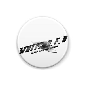 精神覚醒走女のオオサキ WHITE.U.F.O缶バッジ