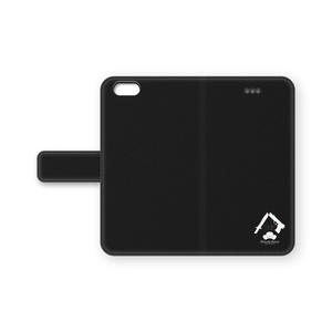 自作ロゴ手帳型iPhoneケース