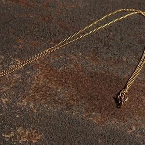 ドイツ製アンティーク硝子のネックレス