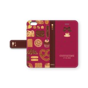 コーヒータイムなiPhoneケース(ピンク)
