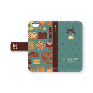コーヒータイムなiPhoneケース(ミント)
