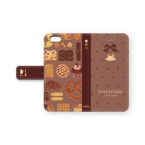 コーヒータイムなiPhoneケース(ベージュ)