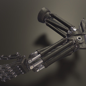 【義手】Prosthesis Arm v1【ボツ作品供養】