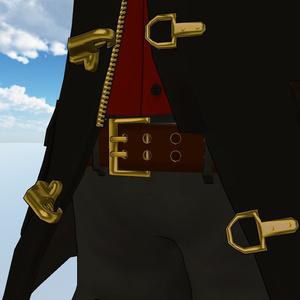 【素体アリ】コート・パンツ・シャツのコーデ【3Dモデル】
