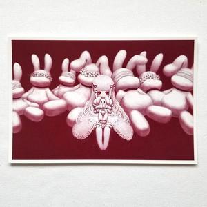 ポストカード「その花束は愛を包み妬みを纏う」