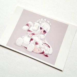 ポストカード「いちごジャムな愛」