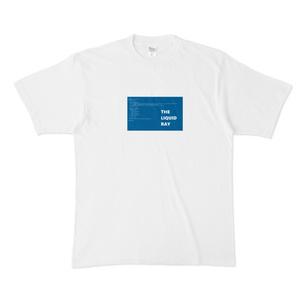 THE LIQUID RAY ロゴTシャツ Freeサイズ (XL)