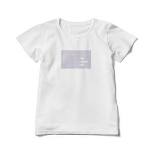 THE LIQUID RAY ロゴ入りレディースTシャツ (L)