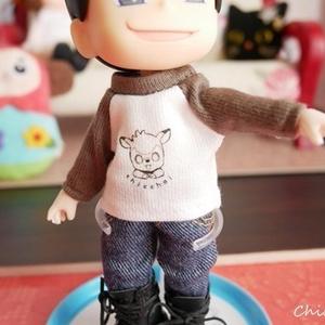 ラグランTシャツ【オビツ11用】