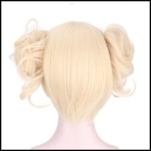 トガヒミコ ウィッグ コスプレ 金髪 僕のヒーローアカデミア ツインテール 送料無料