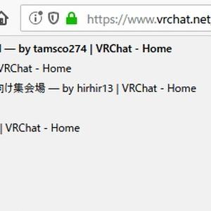 【¥0】VRChat Webページ拡張