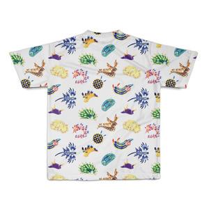 ウミウシフルグラTシャツ水彩風