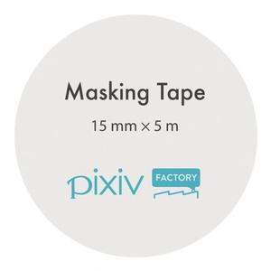#てきとうぱんだ ころころマスキングテープ(15mm幅)