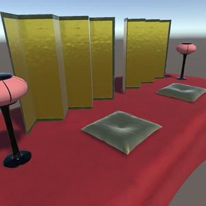 ひな祭りで使えそうな3Dモデル【VRChat使用可、オリジナル3Dモデル】