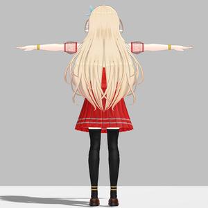 ルシナちゃん用の衣装、スクールドレスセット