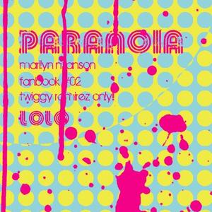 【匿名発送】Paranoia