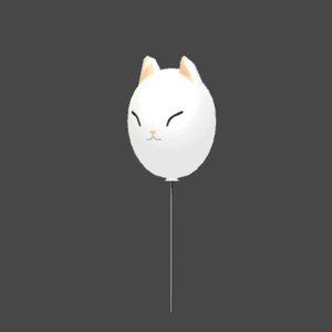 ひにょう風船(VRChat使用想定モデル)