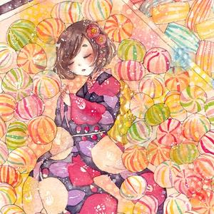 原画【飴の揺り籠】