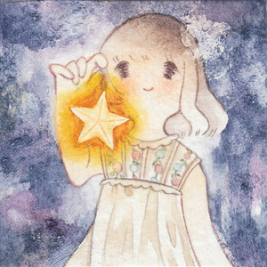 「星灯」ミニ原画