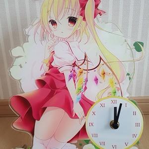 アクリル時計『フランドール・スカーレット』