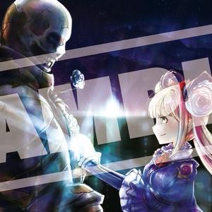 【shadowverse】ルナちゃんxモル先生プレイマット