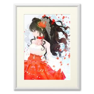 可憐ドレス複製画(プリモアート)