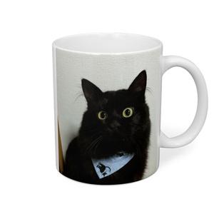 猫の鈴屋 黒猫マグカップ
