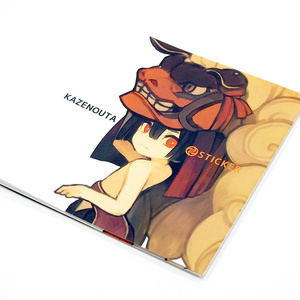 KAZENOUTA STICKER