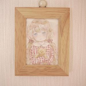 ミニ原画 / 表紙の子