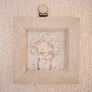 ミニ原画 / 透明