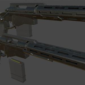 fbxモデル 「Bolt Action Pistol」