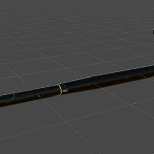 fbxモデル 「環境課支給品:汎用警棒」