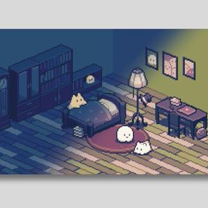 《動く》おやすみカード