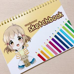◆ひびみく スケッチブック(A5サイズ)◆
