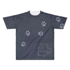 柴犬Tシャツ2黒