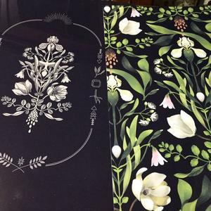 リンネの花譜クリアファイル