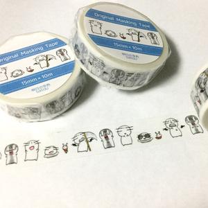 マスキングテープ【キャラ集合】