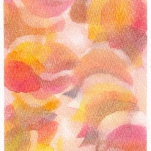 097葉っぱの抽象画★
