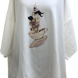 メリエンダ ロングボディTシャツ