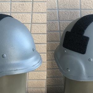 横浜市警察仕様88式鉄帽ベルクロセット
