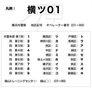 横浜市警察SWAT コールサインパッチ